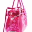 rope handle pvc shopping bag