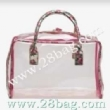 clear plastic shopping bag