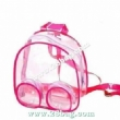 pink clear backpacks¸