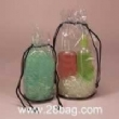 plastic drawstring bag