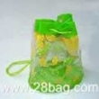 pvc clear drawstring bag