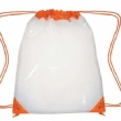 pvc transparent drawstring bag